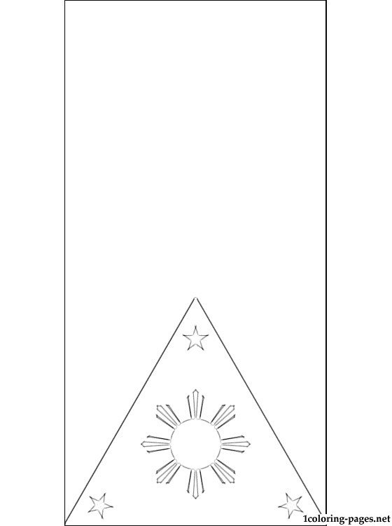 philippine flag ready to print philippine flag coloring page at getcoloringscom free to print flag ready philippine