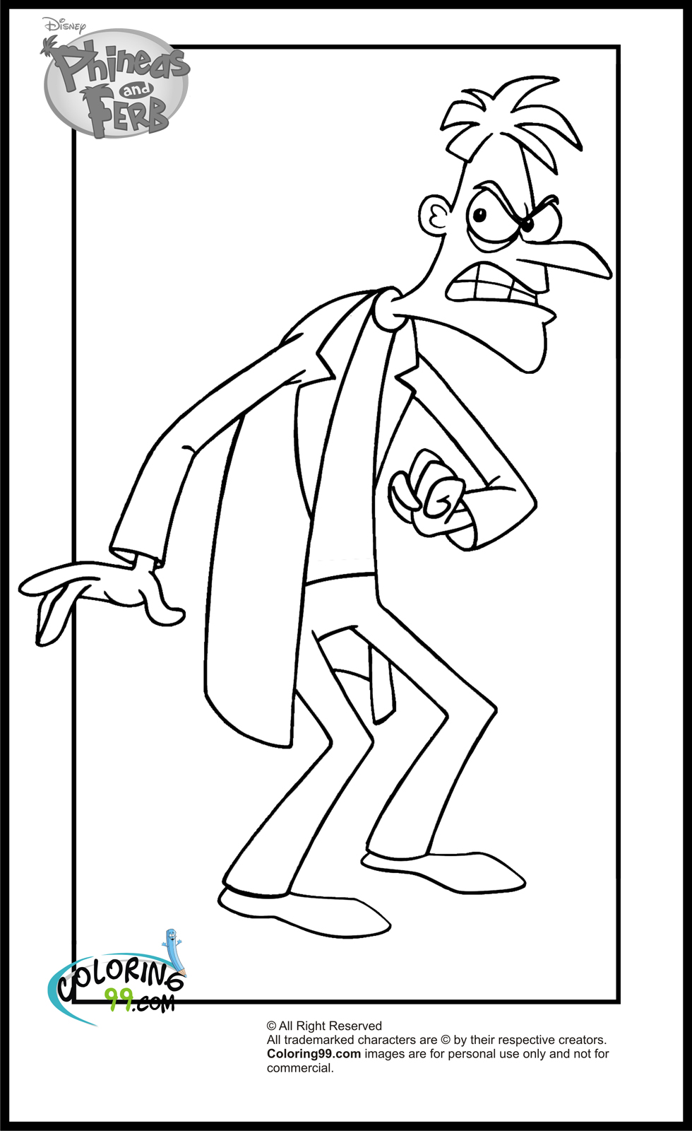 phineas and ferb coloring pages phineas and ferb coloring pages free printable coloring and phineas ferb coloring pages