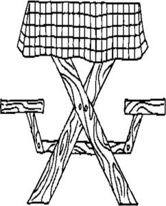picnic table coloring page picnic coloring page 2 kids at picnic table picnic coloring page table