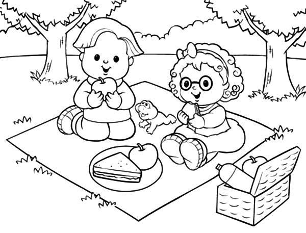 picnic table coloring page picnic table coloring page picnic page coloring table