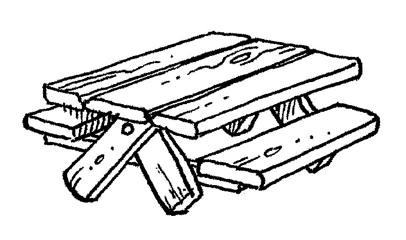 picnic table coloring page picnic table coloring page sketch coloring page table picnic page coloring