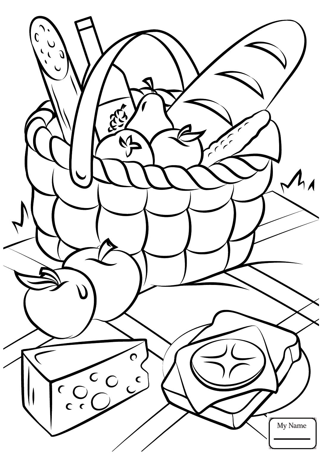 picnic table coloring page picnic table drawing at getdrawings free download page picnic coloring table