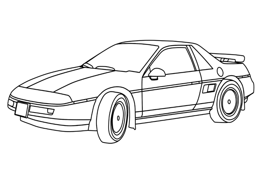 picture of a car to color car coloring pages best coloring pages for kids a car to picture color of