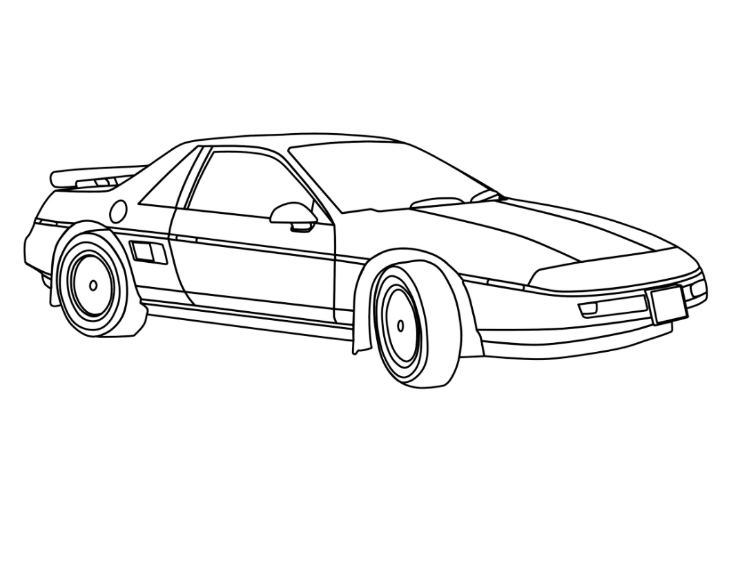 picture of a car to color ford coloring pages to download and print for free color car of a to picture