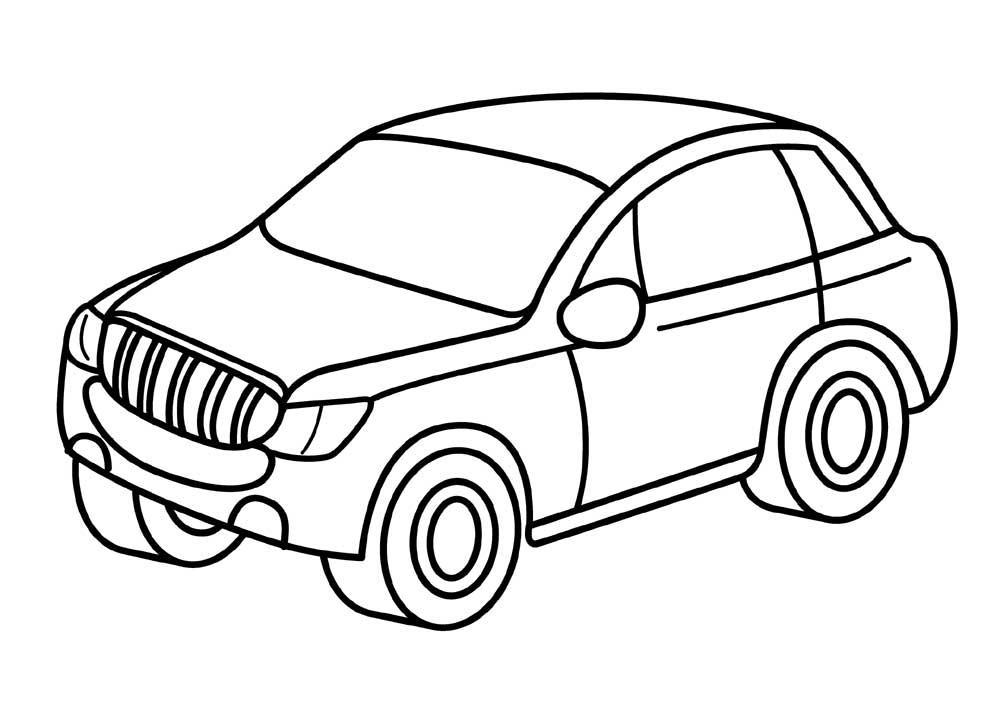 picture of a car to color sports car coloring pages free and printable to picture a of color car