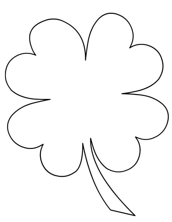 picture of a four leaf clover to color 8 best sword in the stone coloring pages images on to color clover picture of four leaf a