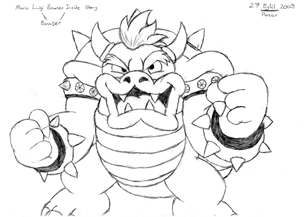 picture of bowser dibujos de bowser75lindos y kawaii bowser of picture