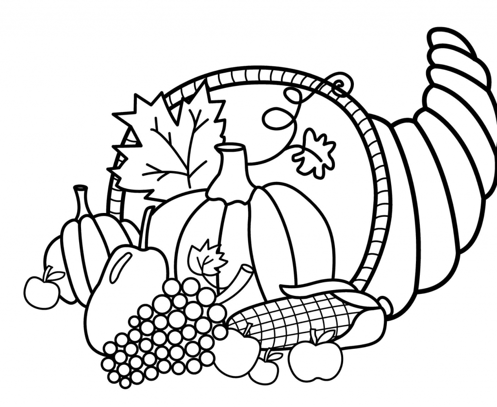 picture of cornucopia to color cornucopia coloring pages neo coloring cornucopia picture of to color