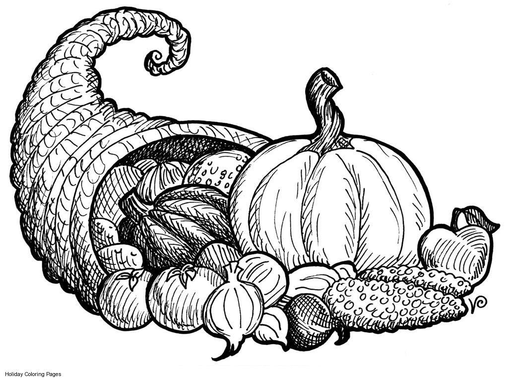 picture of cornucopia to color empty cornucopia coloring page coloring home picture color of cornucopia to