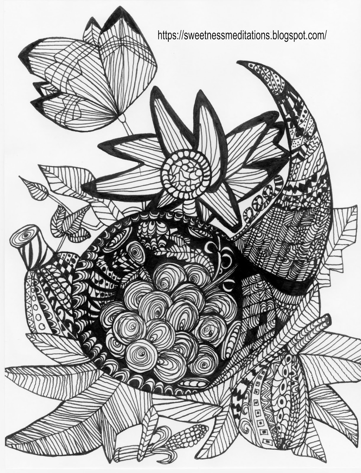 picture of cornucopia to color free printable cornucopia coloring pages coloring home to picture color of cornucopia