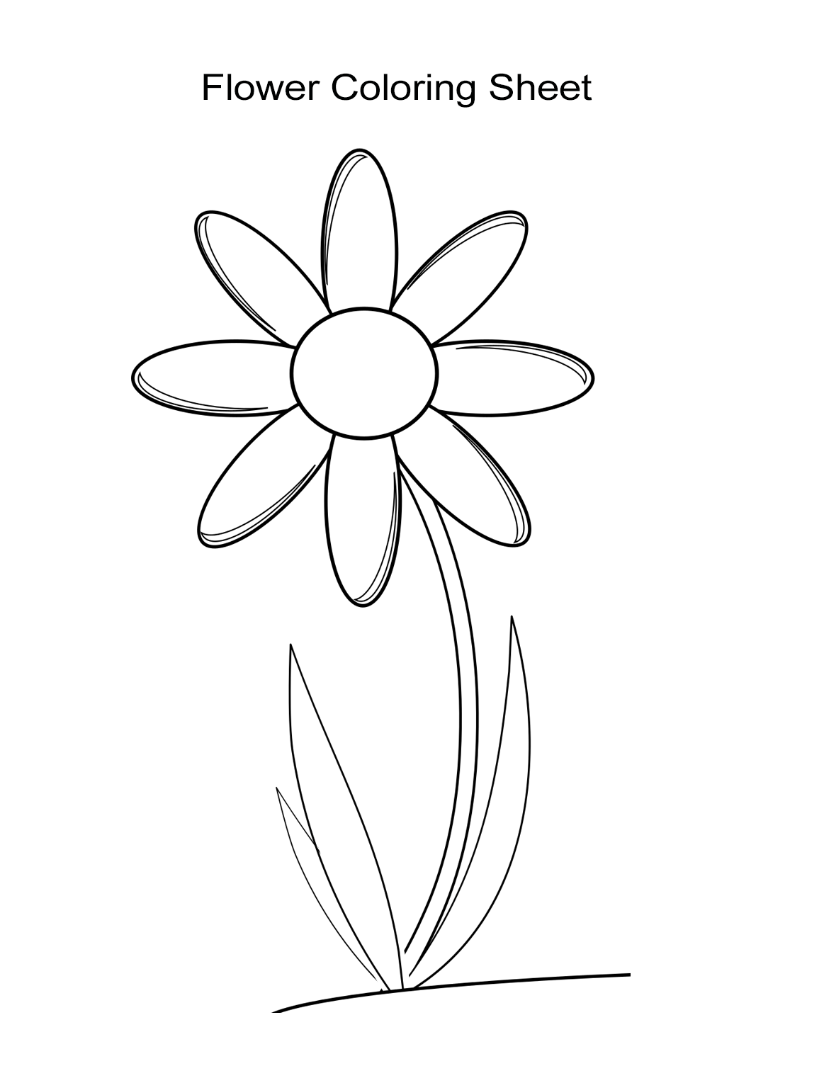 picture of flowers to colour 10 flower coloring sheets for girls and boys all esl to colour picture flowers of