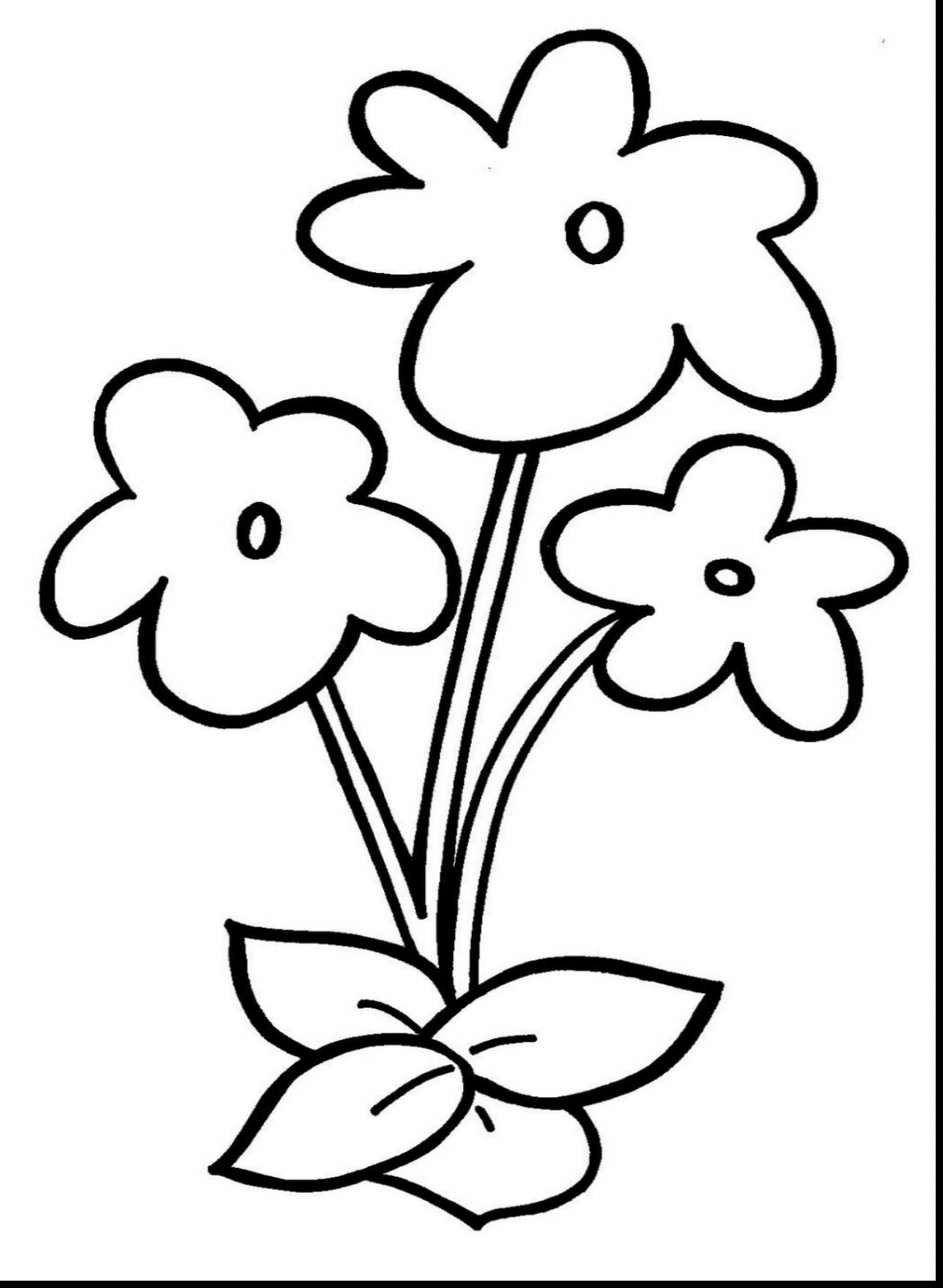 picture of flowers to colour small flower coloring pages at getcoloringscom free of colour to flowers picture