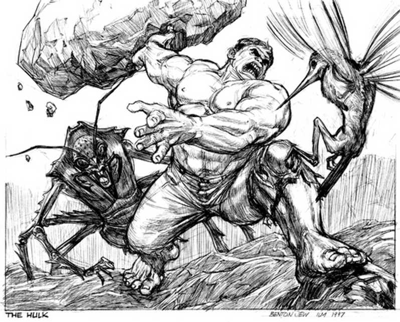 picture of hulk hulk cartoon drawing at getdrawingscom free for picture hulk of