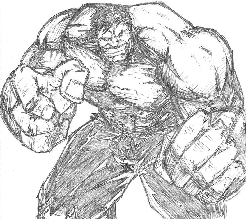 picture of hulk incredible hulk black and white by davidcrabtreeart on hulk of picture