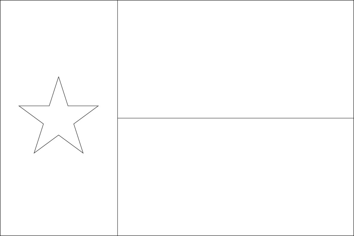 picture of texas flag to color 9 best images of worksheet about texas texas symbols picture to flag texas of color