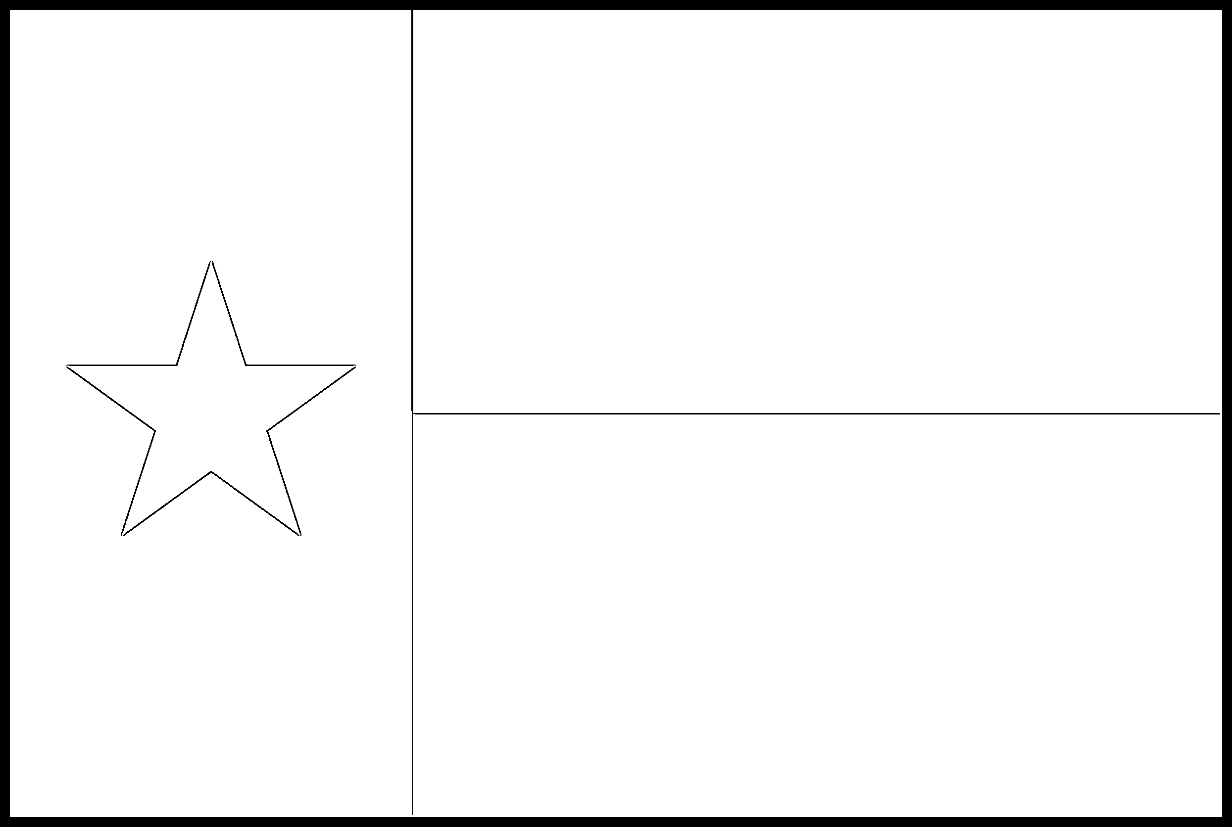 picture of texas flag to color coloring pages of state flags coloring home color flag to texas of picture