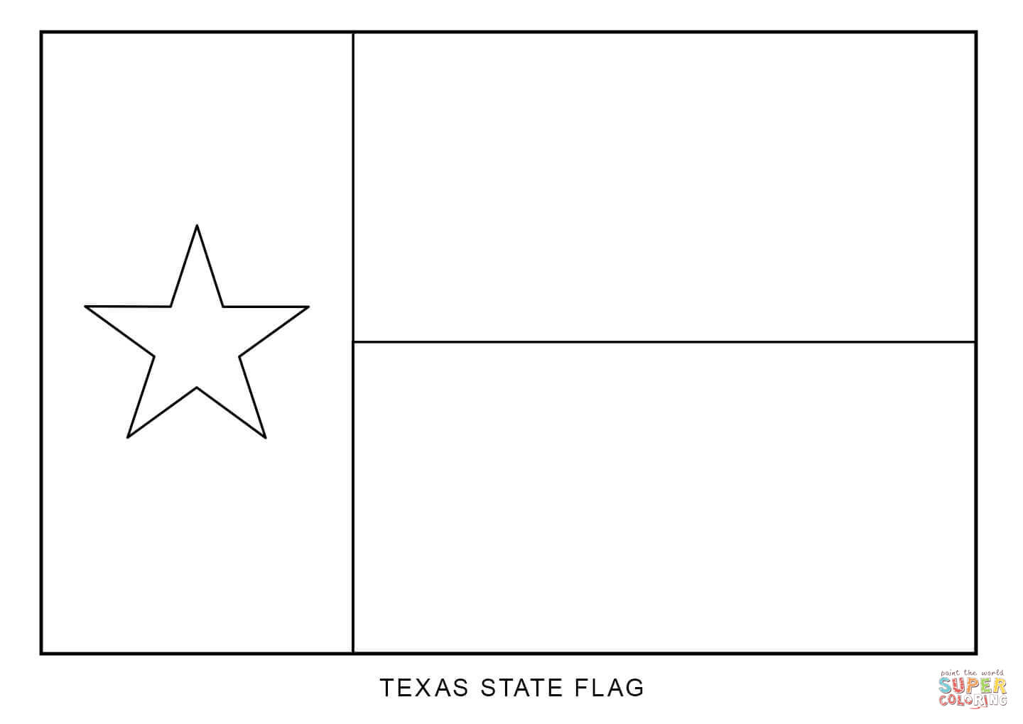 picture of texas flag to color texas flag coloring page coloring home texas picture to color of flag