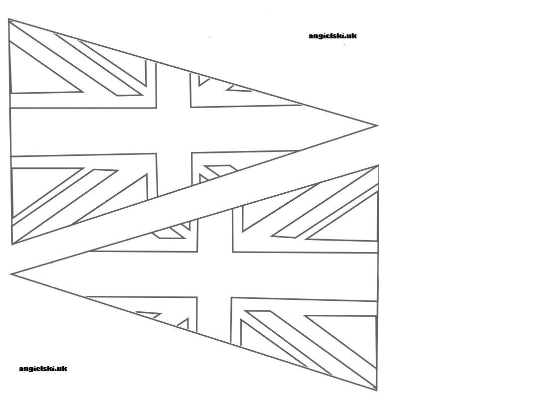 picture of union jack flag to colour united kingdom flag printables to picture of colour jack union flag