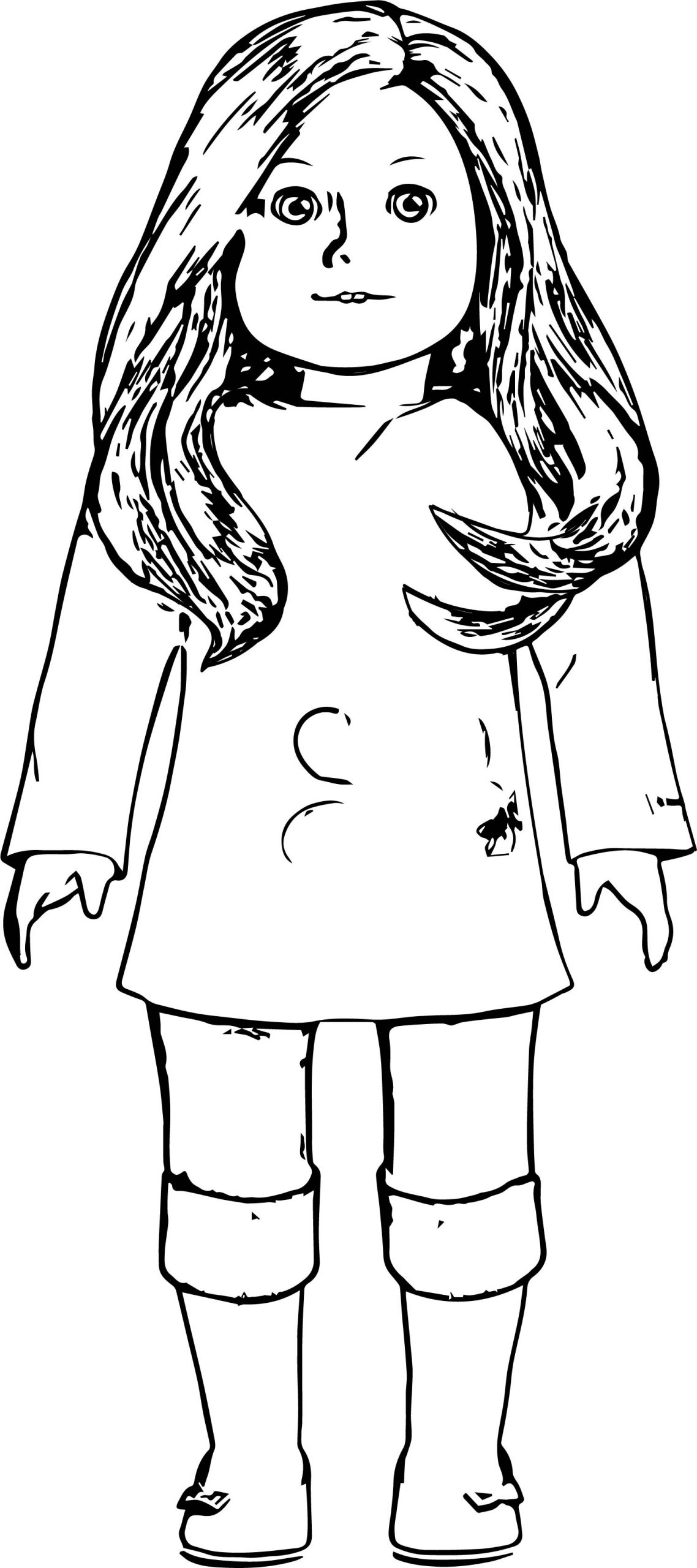 pictures of american girl dolls to color american girl coloring pages best coloring pages for kids dolls of american color to girl pictures