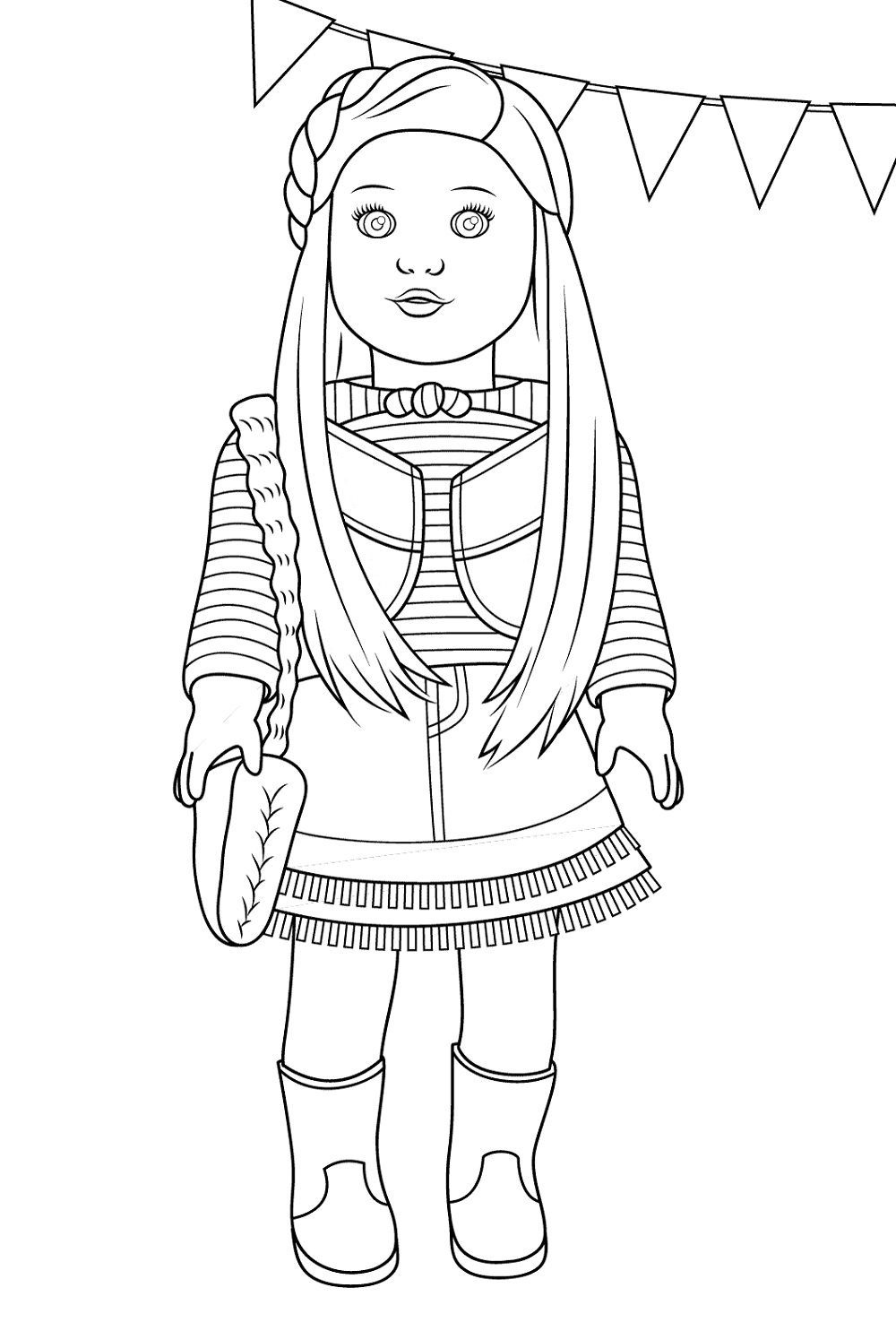 pictures of american girl dolls to color american girl doll coloring pages educative printable pictures girl dolls color american to of