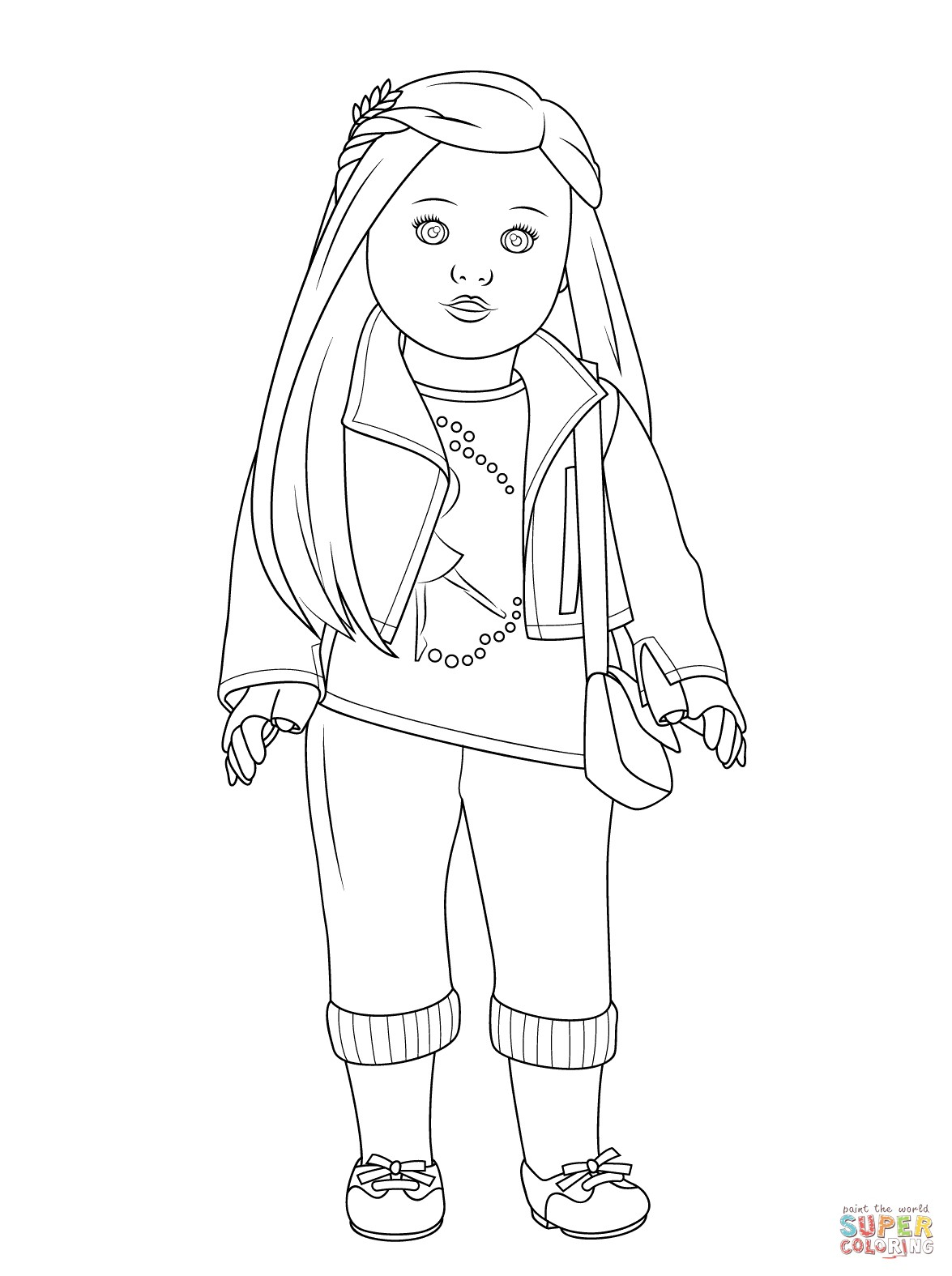 pictures of american girl dolls to color american girl doll coloring pages printable activity shelter dolls color to pictures of girl american