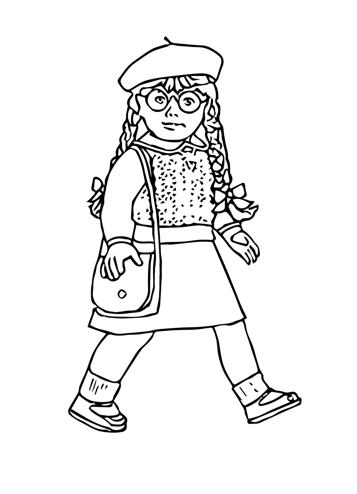 pictures of american girl dolls to color free printable american girl doll coloring pages to girl dolls american pictures of color