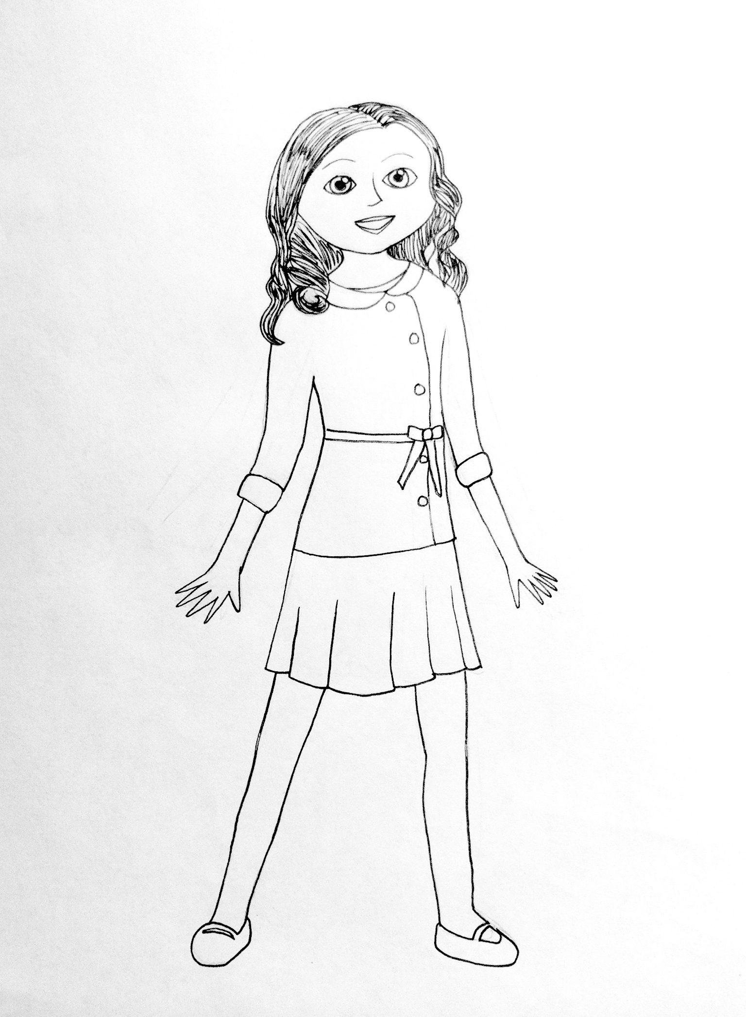 pictures of american girl dolls to color pictures of american girl dolls to color dolls to girl color of pictures american