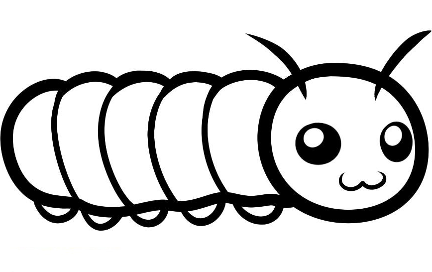 pictures of caterpillars to color free printable caterpillar coloring pages for kids caterpillars to pictures color of
