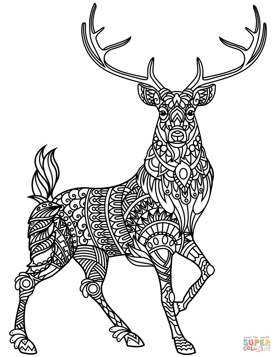 pictures of deers to color cute baby deer coloring pages bestappsforkidscom of pictures to color deers