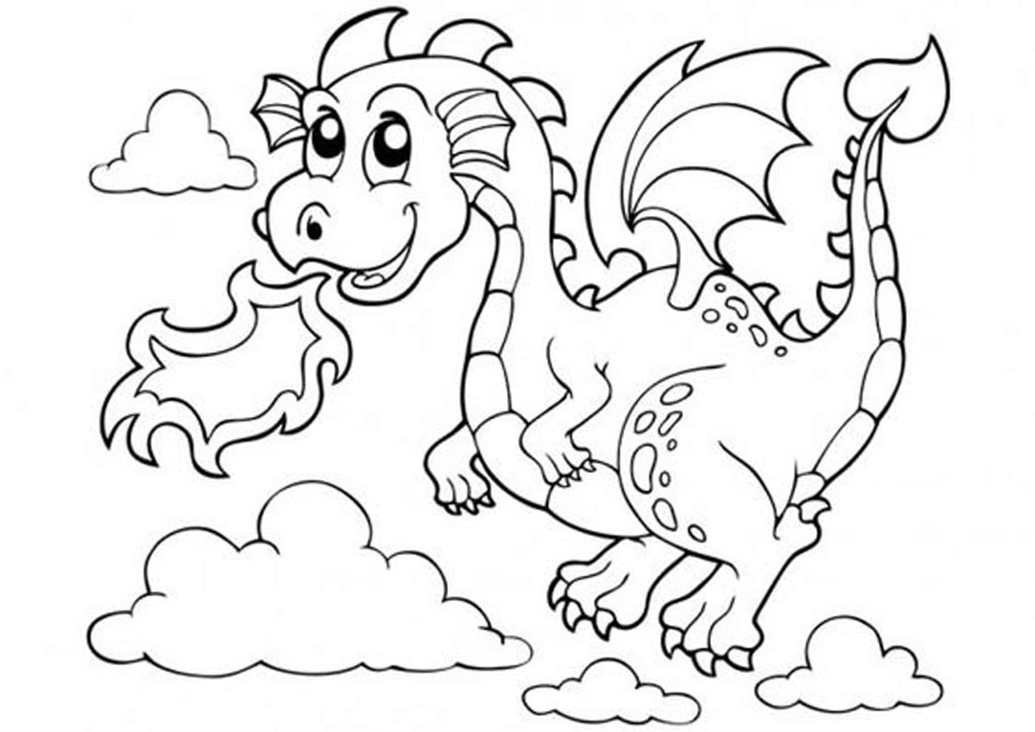 pictures of dragons to colour in coloring pages dragons idea whitesbelfast dragons to colour in of pictures