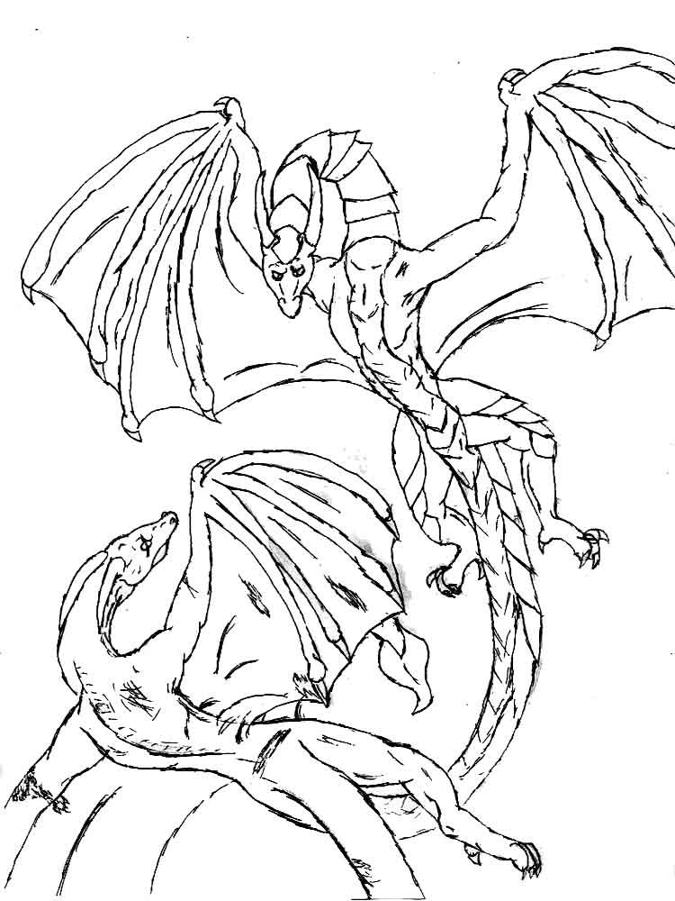 pictures of dragons to colour in dragon coloring pages coloringpages1001com to in colour of pictures dragons