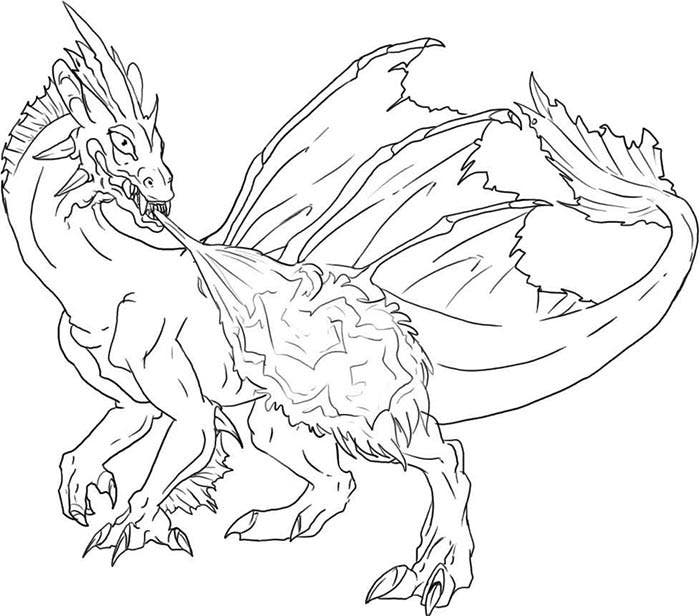 pictures of dragons to colour in free easy to print dragon coloring pages tulamama dragons to colour of in pictures