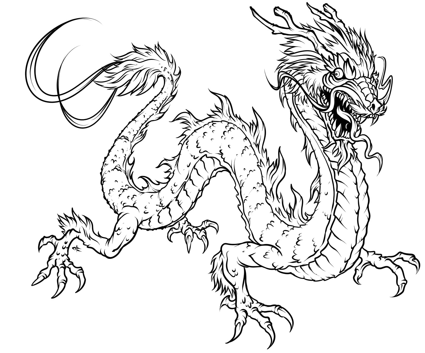 pictures of dragons to colour in free printable chinese dragon coloring pages for kids colour of dragons in to pictures