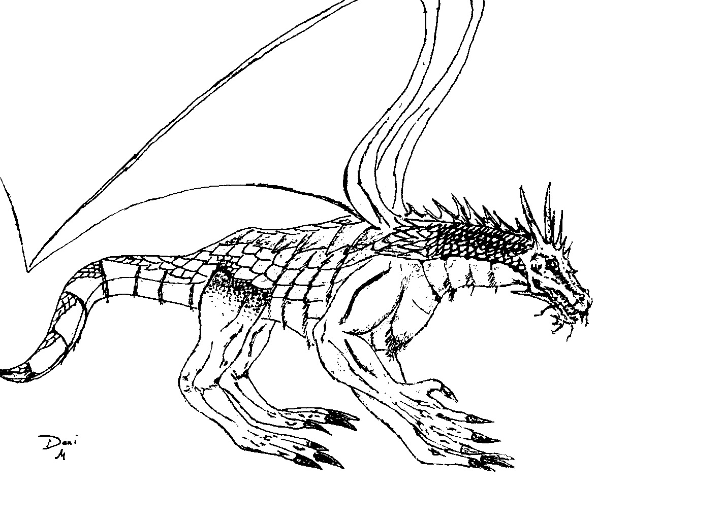 pictures of dragons to colour in hydra dragon coloring pages at getcoloringscom free of pictures in to dragons colour