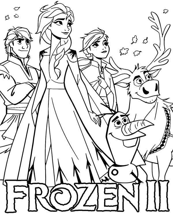pictures of frozen frozen 2 characters coloring pages of pictures frozen