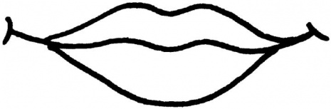 pictures of lips to color lips coloring pages clipart best pictures of color lips to