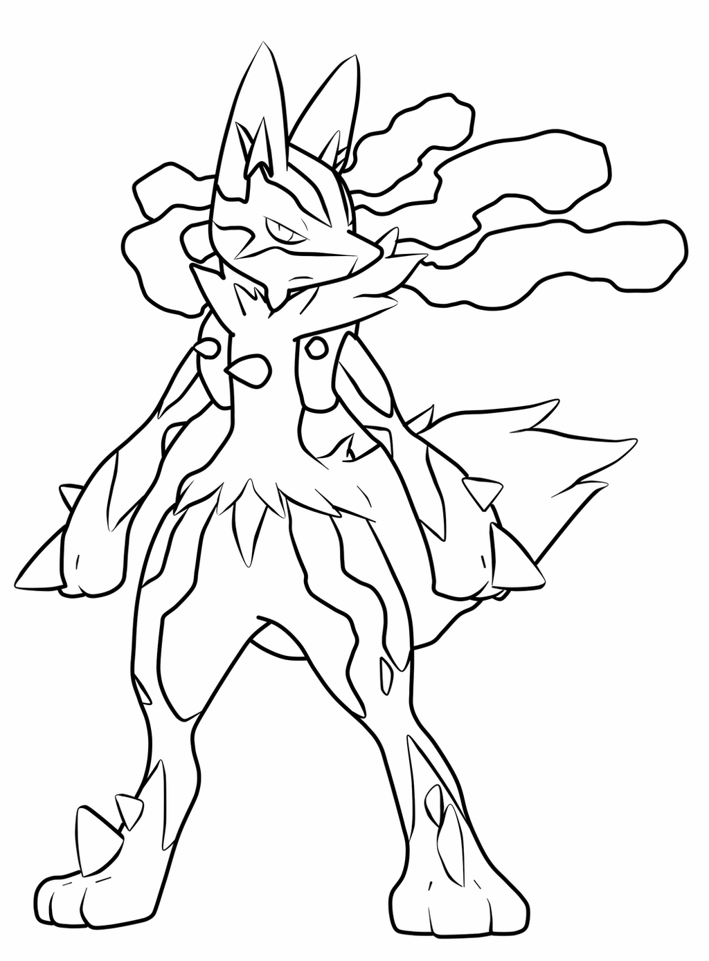 pictures of mega lucario tribal mega lucario by blackbutterfly006 on deviantart lucario mega of pictures