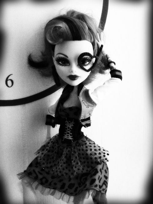 pictures of monster high dolls connie monochrome custom monster high doll etsy pictures high dolls monster of