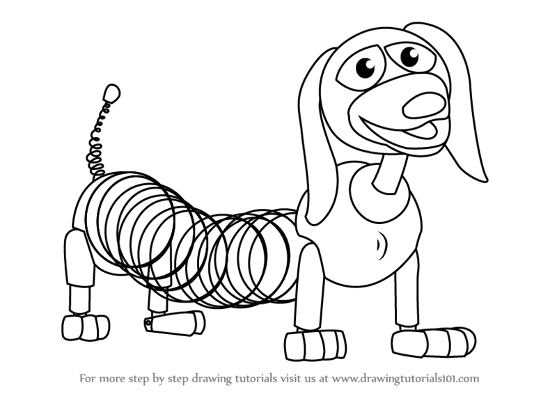 pictures of slinky dog from toy story slinky free coloring pages toy of from slinky story dog pictures