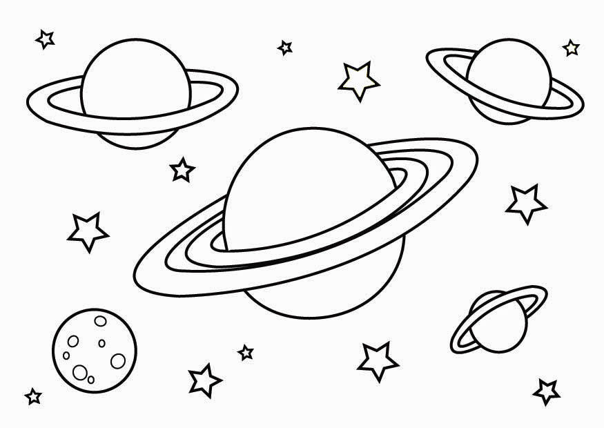 pictures of the planets to color planets 3 coloring page of pictures color the to planets