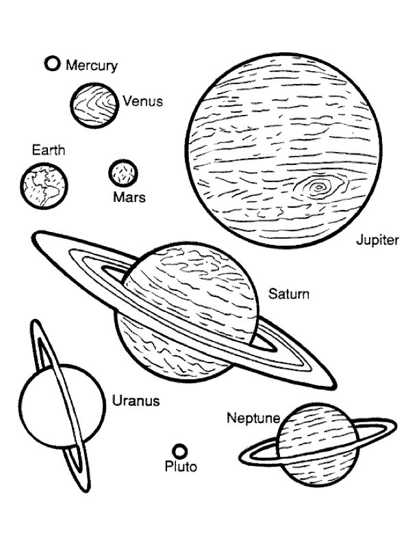pictures of the planets to color planets coloring pages free printable planets coloring pages pictures to of planets the color