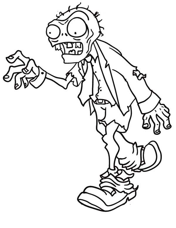 pictures of zombies to color free printable zombie coloring pages coloring home to pictures zombies color of