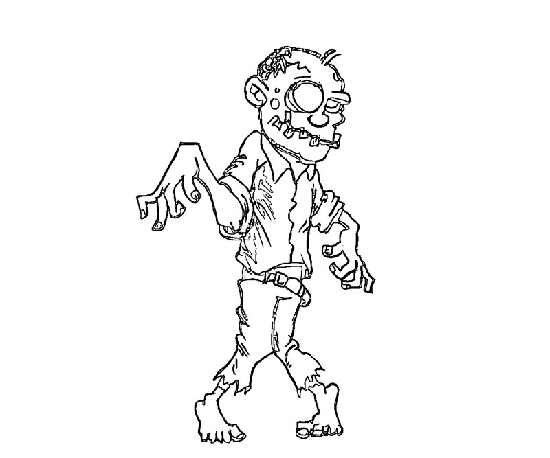 pictures of zombies to color halloween colorings zombies of color pictures to