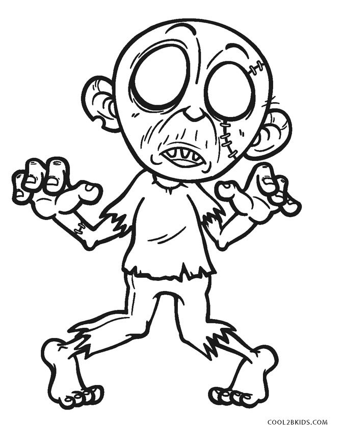 pictures of zombies to color scary zombie coloring pages coloring home pictures to of color zombies