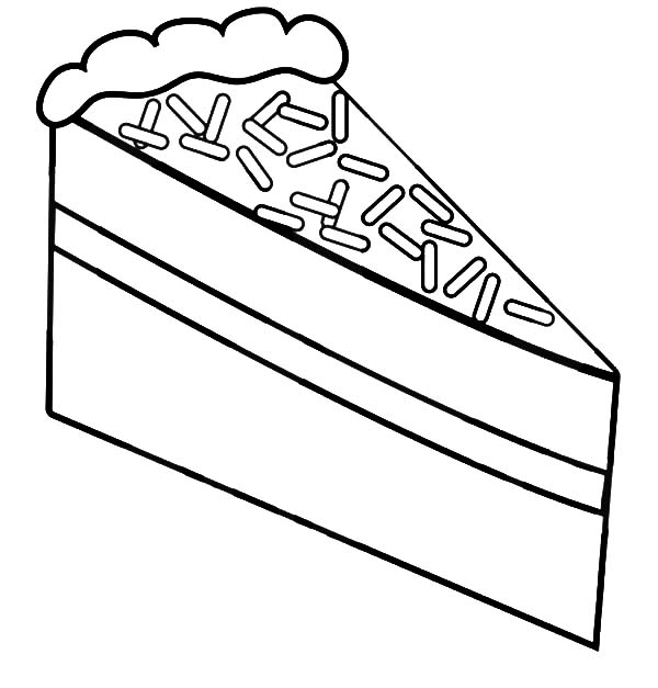 piece of cake coloring page black forest cake slice coloring pages best place to color cake of piece coloring page