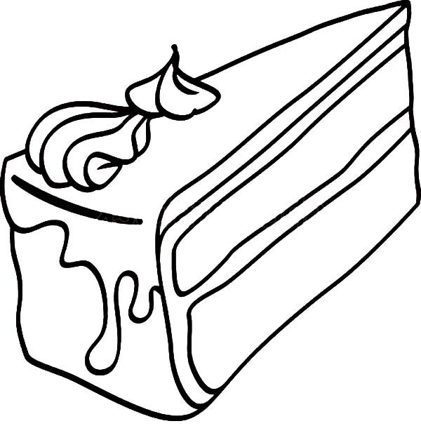 piece of cake coloring page pictures slice of cake birthday coloring pages coloring page coloring cake piece of