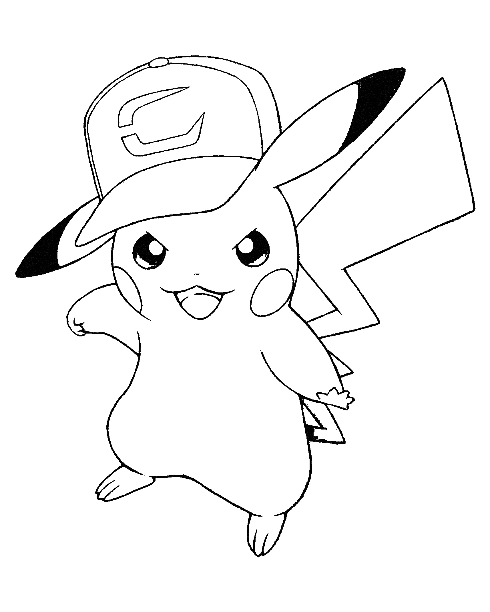 pikachu coloring pages best free pikachu coloring pages image free coloring pikachu coloring pages