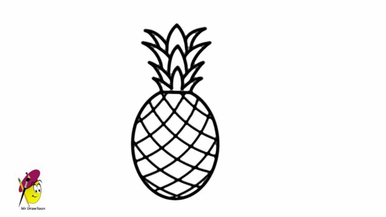 pineapple drawing 19 best images about pineapple on pinterest pineapple drawing pineapple
