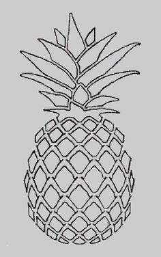 pineapple line drawing pineapple drawing google search 스케치 그림 line drawing pineapple