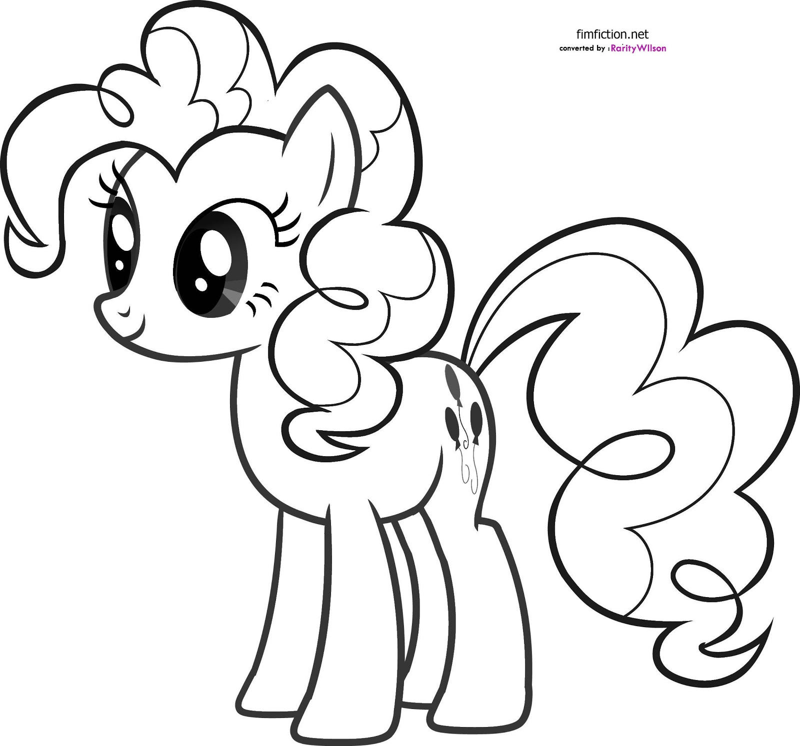 pinkie pie coloring pinkie pie coloring clipart best pinkie coloring pie